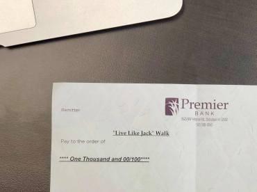 Premier Bank- Check